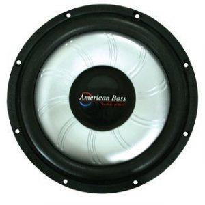 American Bass 12″ Slim Subwoofers