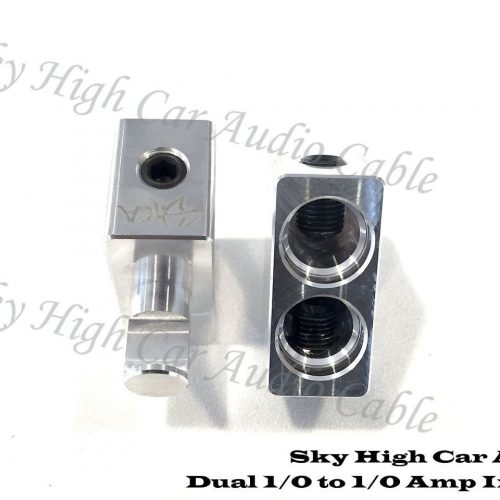 SKY HIGH DUAL 2/0 TO SINGLE 1/0 AMP INPUTS – PAIR